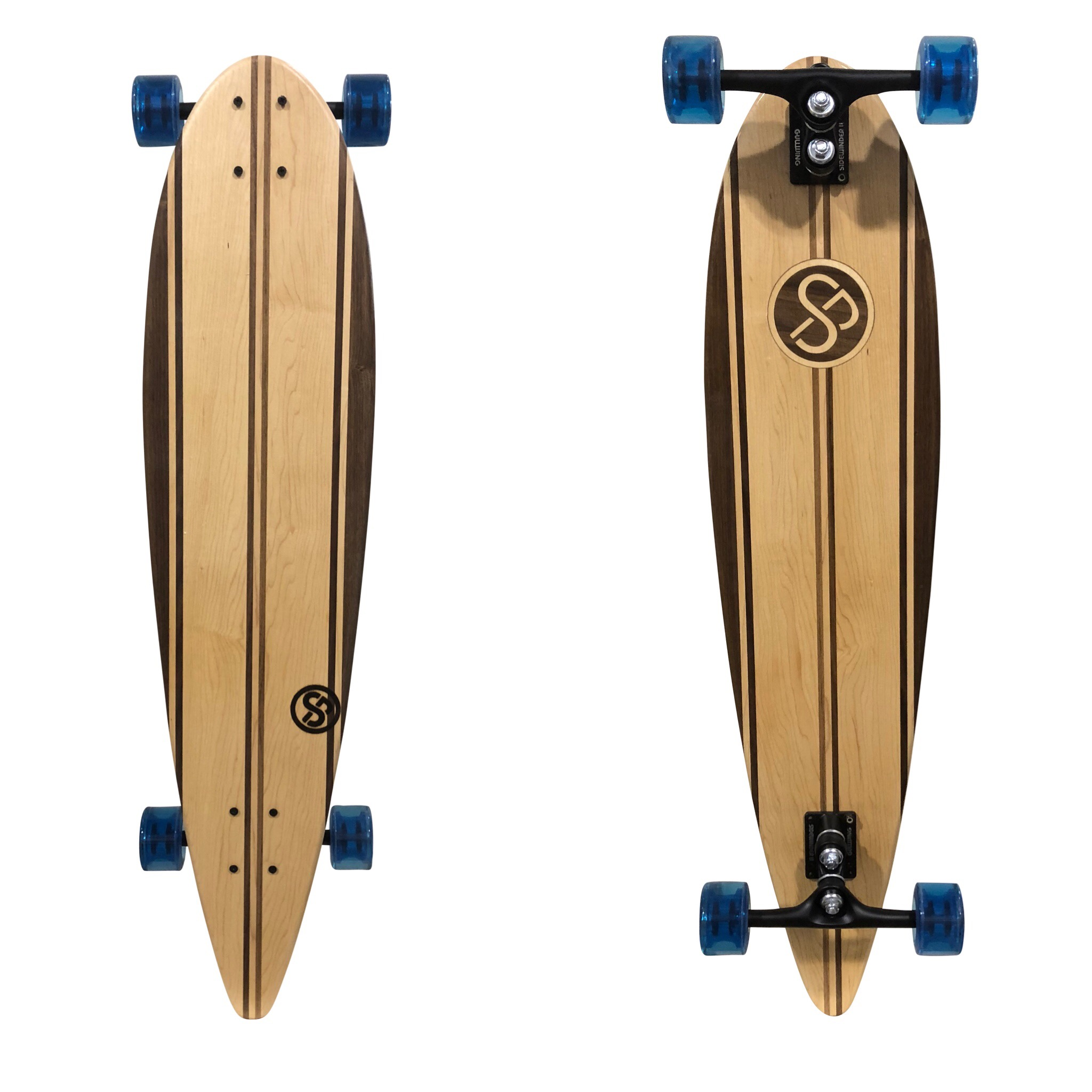Handcrafted Longboard Pintail